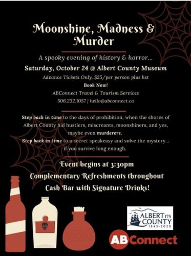 Celebrate Halloween at the Albert County Museum