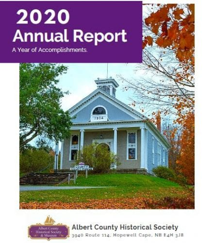 Albert County Historical Society AGM