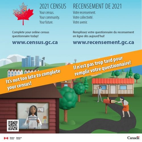 It's not too late to complete your census