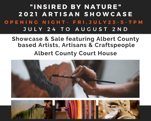 """New """"Inspire by Nature"""" artisan showcase starts July 24th"""