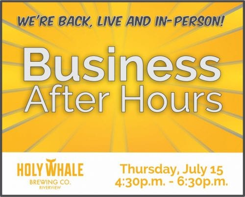 Business networking event at Holy Whale