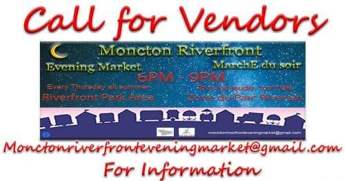 Moncton Riverfront night market seeking vendors