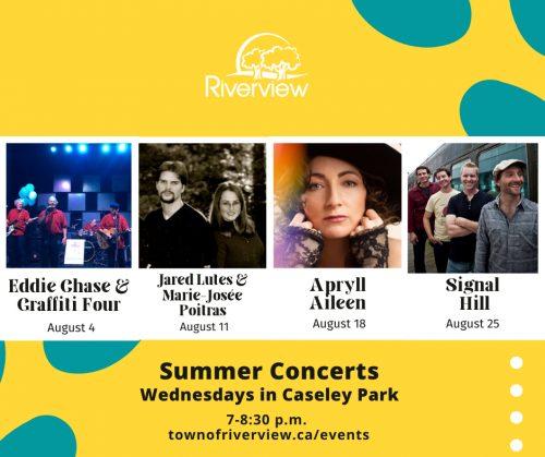 Riverview summer concert series