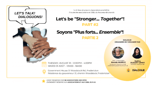 Dialogue NB's Stronger Together part 2
