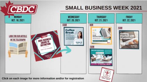 CBDC Small Business Week event series underway